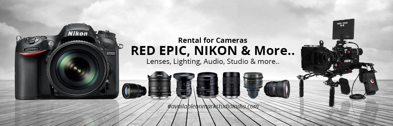 Camera lenses rental